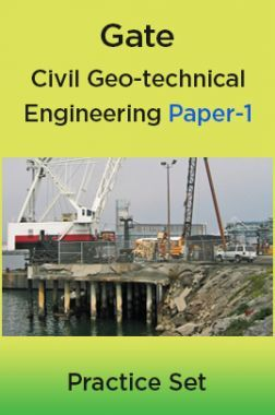 Gate Civil Geo-technical Engineering Paper-1