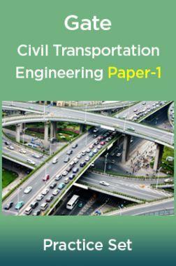 Gate Civil Transportation Engineering Paper-1
