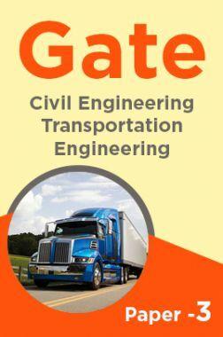 Gate Civil Transportation Engineering Paper-3