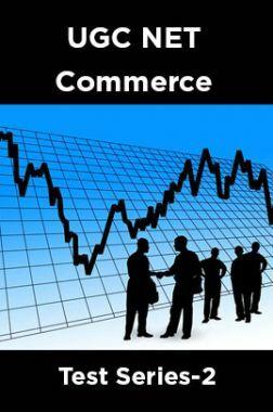 UGC NET Commerce Test Series-2