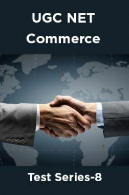 UGC NET Commerce Test Series-8