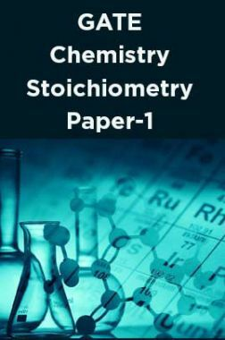 GATE-Chemistry Stoichiometry Paper-1