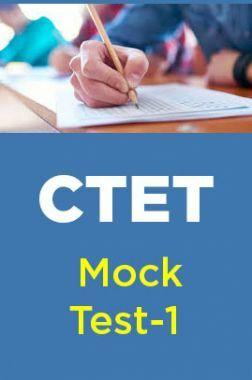 CTET Mock Test-1