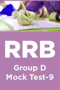 RRB Group D Mock Test -9