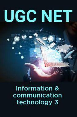 UGC NET Information & communication technology 3
