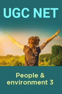 UGC Net People & environment 3