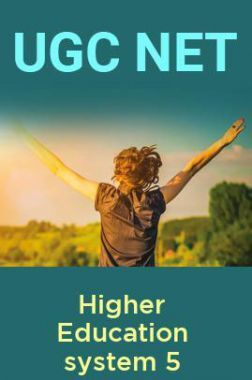 UGC NET Higher Education system 5