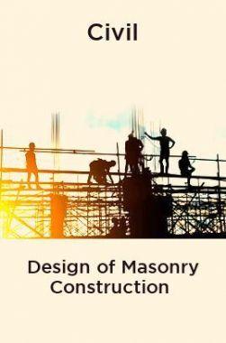 Civil Design of Masonry Construction
