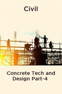 Civil Concrete Tech and Design Part-4