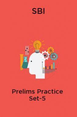 SBI-Prelims Practice Set-5