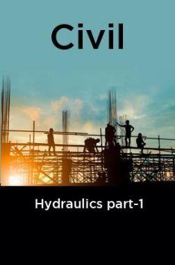 Civil Hydraulics part-1