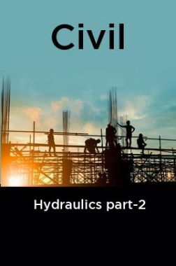 Civil Hydraulics part-2