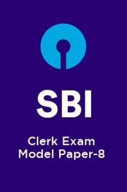 SBI-Clerk Exam Model Paper-8