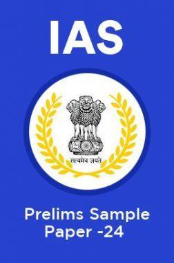 IAS Prelims Sample Paper-24