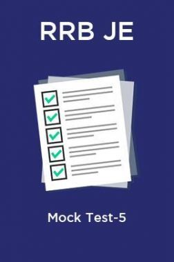 RRB JE Mock Test-5
