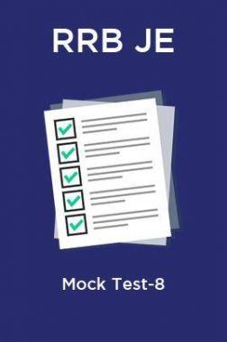 RRB JE Mock Test-8