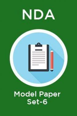 NDA Model Paper Set-6