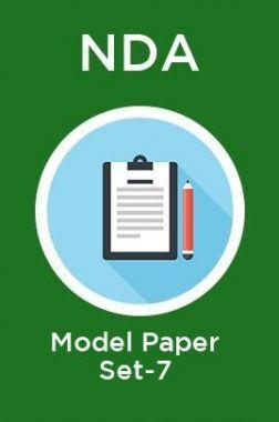 NDA Model Paper Set-7