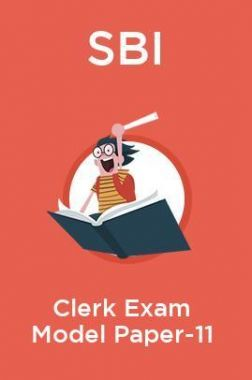 SBI Clerk Exam Model Paper -11