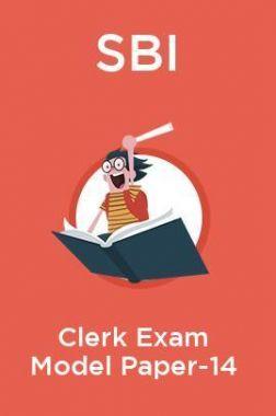 SBI Clerk Exam Model Paper -14
