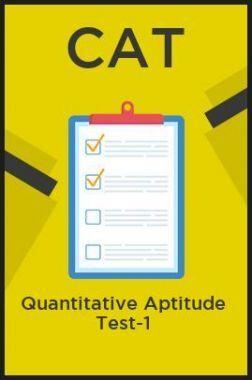 CAT Quantitative Aptitude Test-1