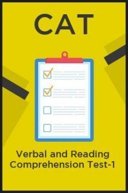 CAT Verbal and Reading Comprehension Test-1