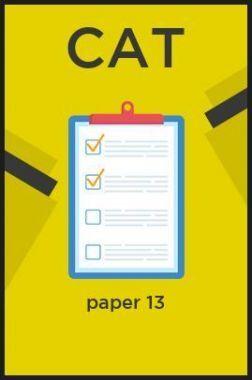 CAT paper 13