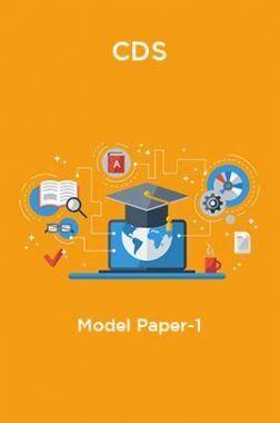 CDS-Model Paper-1