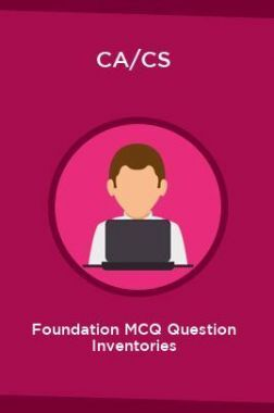 CA/CS Foundation MCQ Question Inventories