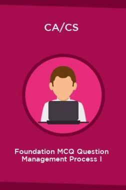 CA/CS Foundation MCQ Question Management Process I