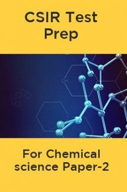 CSIR Test Prep For Chemical science Paper-2