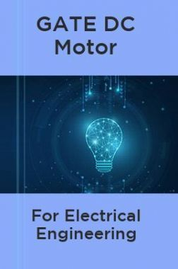 GATE DC Motor For Electrical Engineering