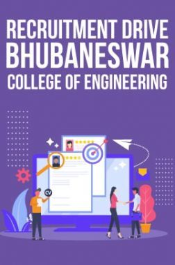 Recruitment Drive For Bhubaneswar College Of Engineering