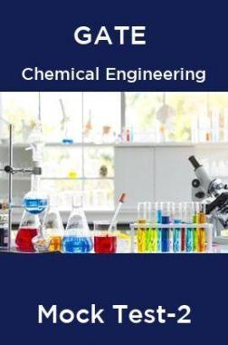 GATE Chemical Engineering Mock Test -2