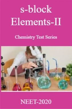 s-block Elements-II Chemistry Test Series For NEET-2020
