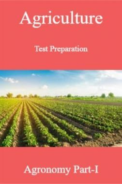 Agriculture Test Preparation For Agronomy Part-I