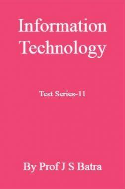Information Technology Test Series-11