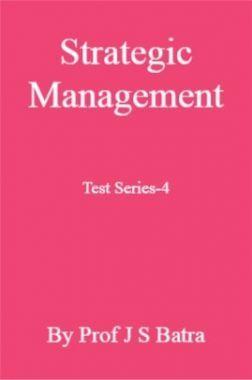 Strategic Management Test Series-4