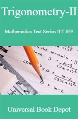 Trigonometry-II Mathematics Test Series IIT JEE