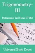 Trigonometry-III Mathematics Test Series IIT JEE