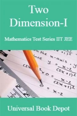 Two Dimension-I Mathematics Test Series IIT JEE