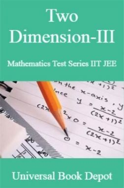 Two Dimension-III Mathematics Test Series IIT JEE