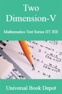 Two Dimension-V Mathematics Test Series IIT JEE