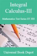 Integral Calculus-III Mathematics Test Series IIT JEE