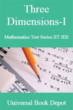 Three Dimensions-I Mathematics Test Series IIT JEE