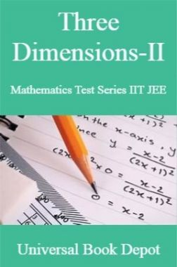 Three Dimensions-II Mathematics Test Series IIT JEE