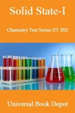 Solid State-I Chemistry Test Series IIT JEE