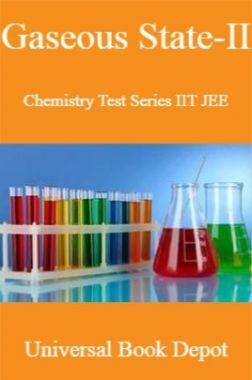 Gaseous State-II Chemistry Test Series IIT JEE