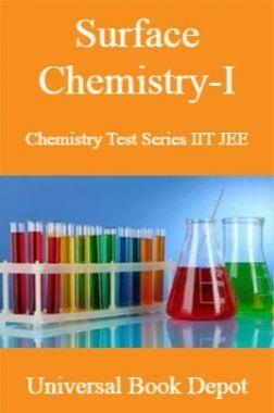 Surface Chemistry-I Chemistry Test Series IIT JEE