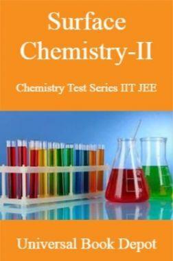 Surface Chemistry-II Chemistry Test Series IIT JEE